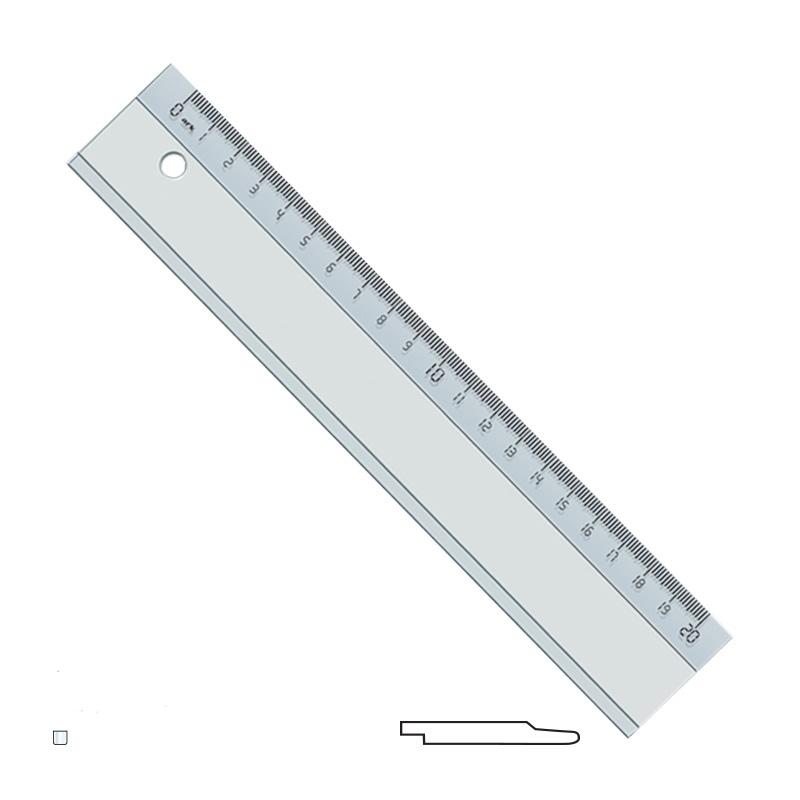 20 cm Plastic Ruller
