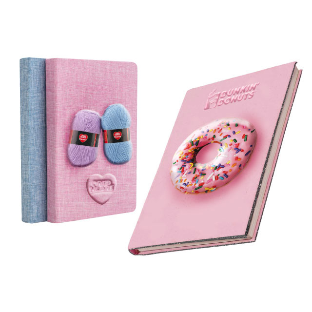 3D Embossed Sponge Cover Notebook