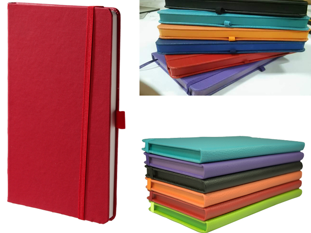 9 x 14 Edge Painted Notebook
