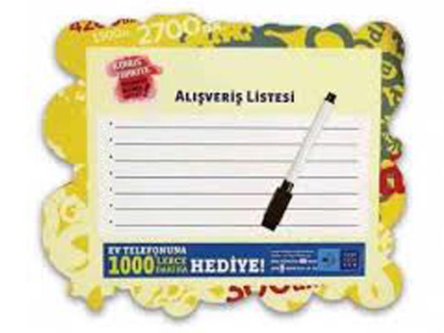 A4 Pen Board Magnet 21x29 cm