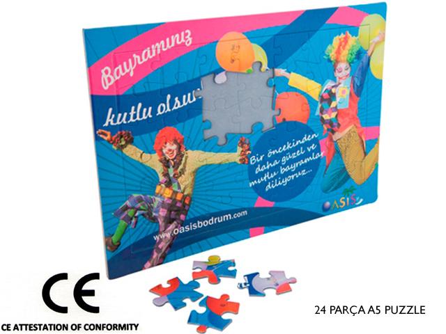A5 Puzzle 24 Piece Jigsaw