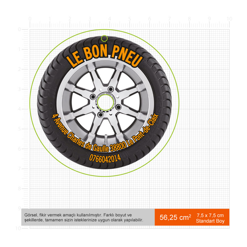 Promotional Car Air Fresheners Standart Size(Max size 56cm2)