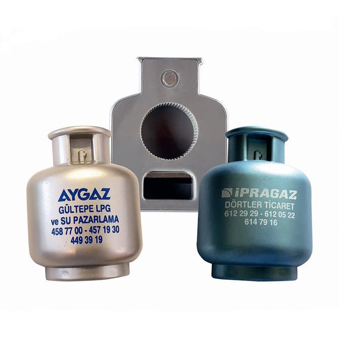 Cylinder Gas Shaped Bottle Opener