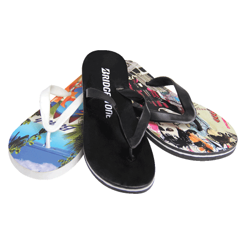 Eva Beach Flip Flop - 4 color printing