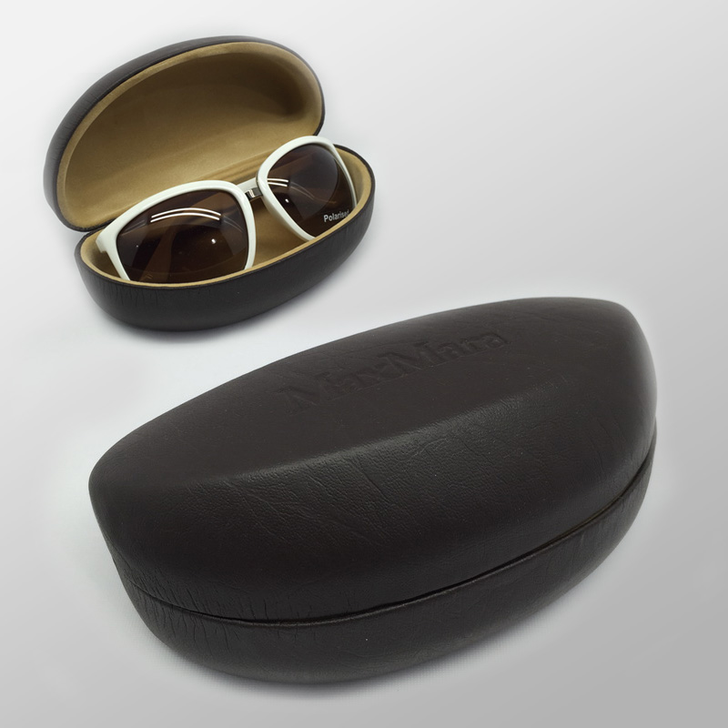 Fabric & Leader Coating Sun Glasses Case