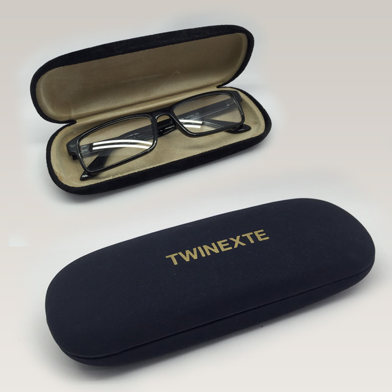 Fabric & Leader Coating Plastic Glasses Case