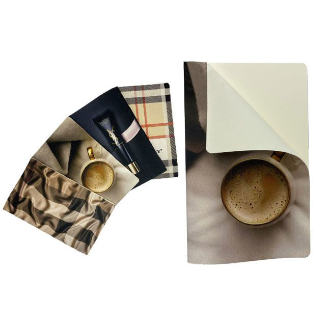 Fabric Cover Filexible Notebook (13x21 cm)