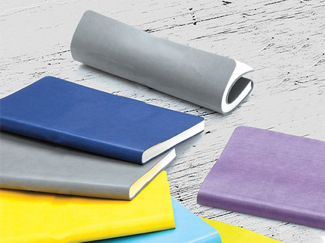 Flexible Thick Leather Notebook (13x21 cm)