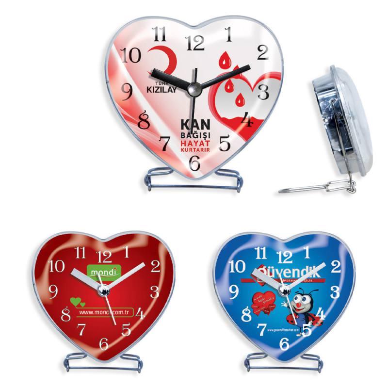 Heart Table Clock