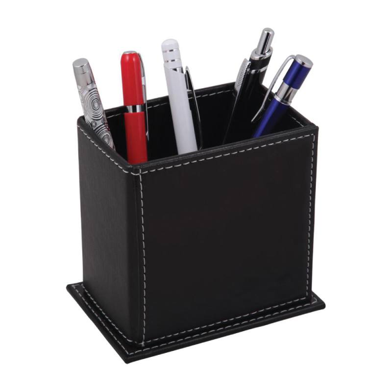 Imitation Leather Pen Holder