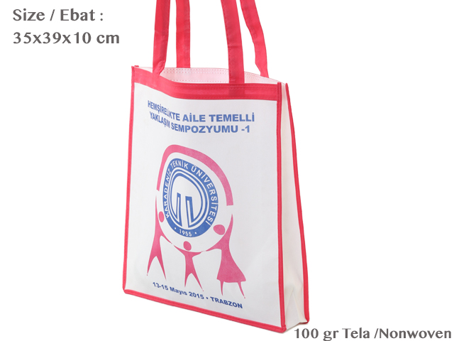 Interlining Cloth Bag (35x40x10cm)