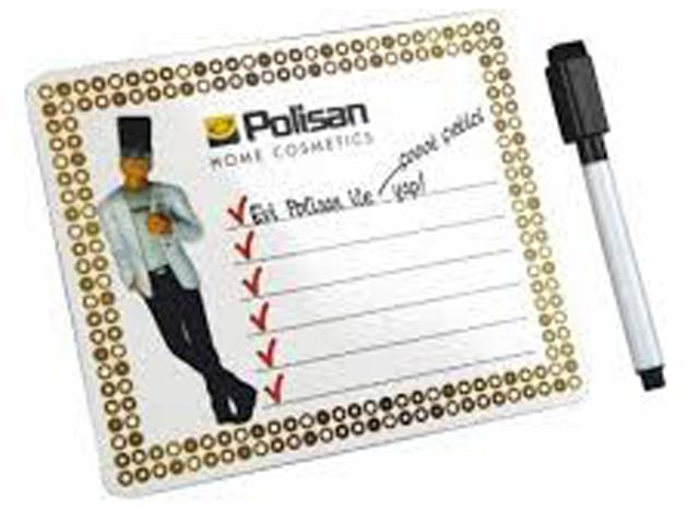 Pen, Clipboard Magnet 13x18 cm
