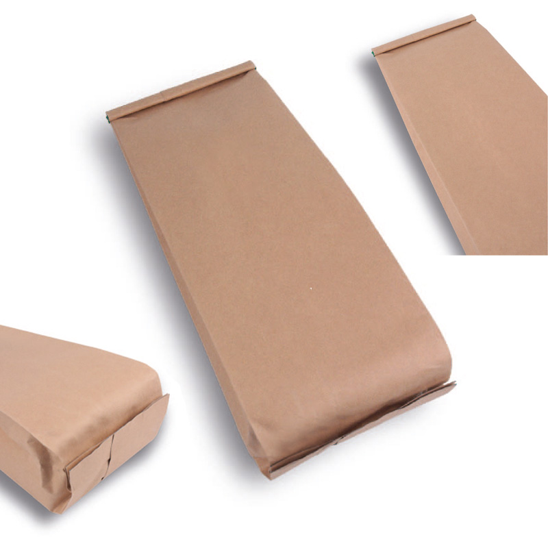 Kraft Aluminum Packaging with Side Gusset
