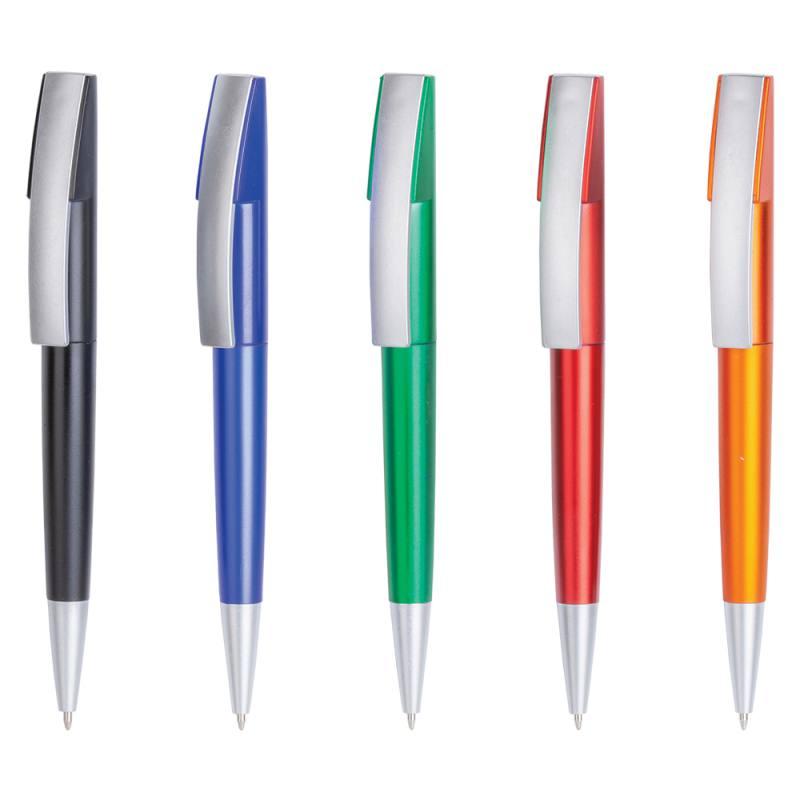 Lunar Metallic Plastic Ballpoint Pen