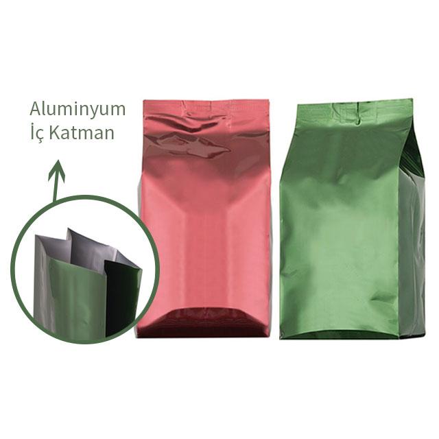 Middle Size Mat Aluminum Bag