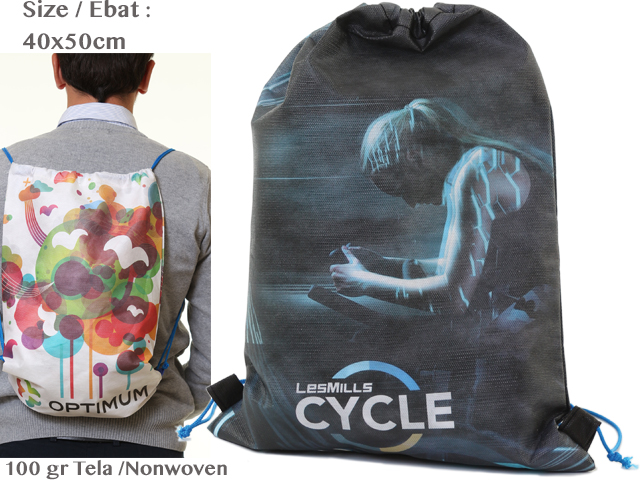 Nonwoven Shirred Backpack (40x50 cm)