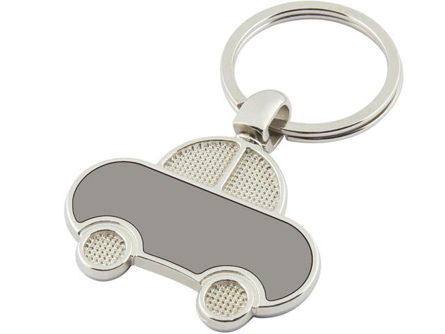 Automobile Shaped Metal Keychain