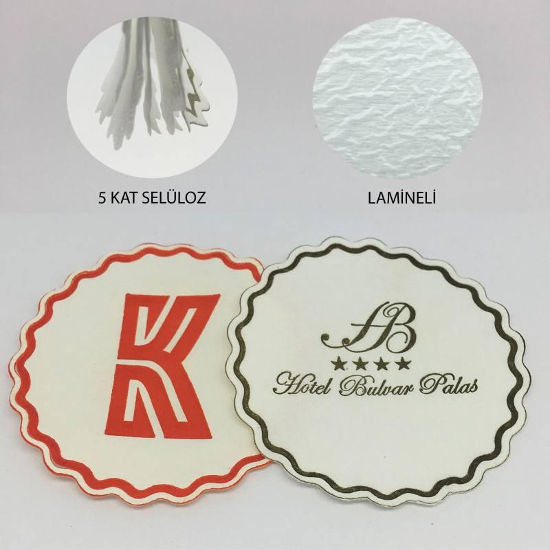 Paper Coasters (cellulose)