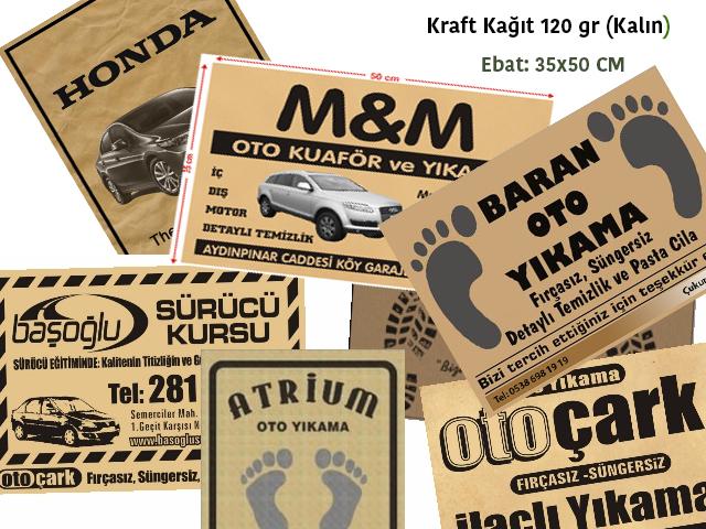 Mat Thick Kraft (120 gr.)