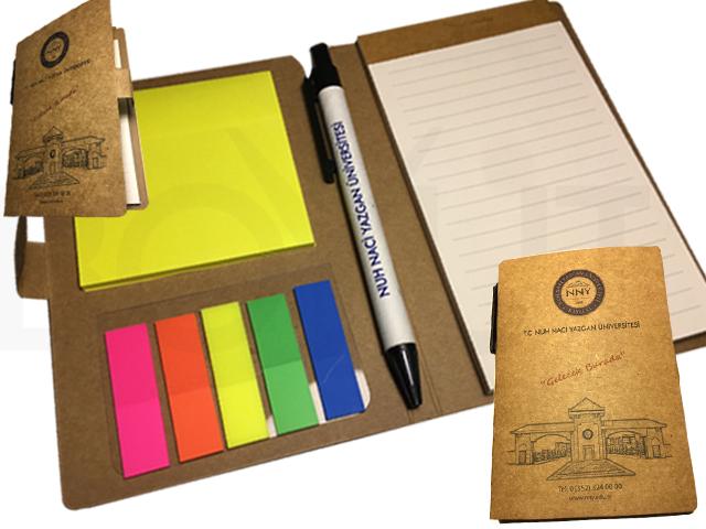 Pen, Self Adhesive Memo Pad, Pocket Memo Pad