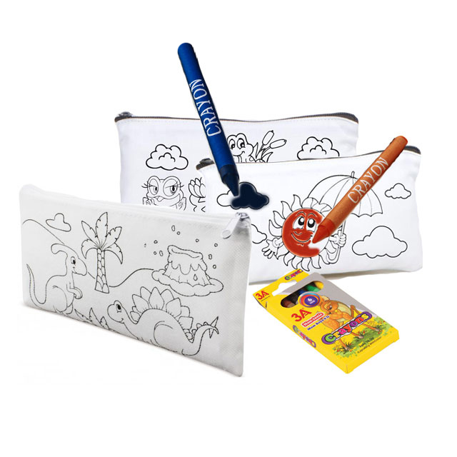Penholder set (6 crayon - pen holder)