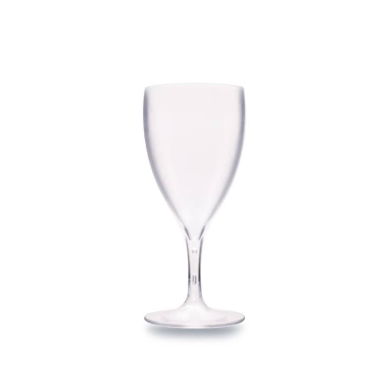 Polycarbonate Premium Frosted Wine Glass 230 ml