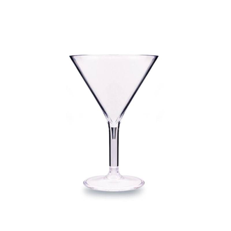 Polycarbonate Premium Martini Glass