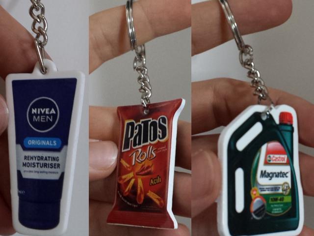 Promotional PVC Keychain