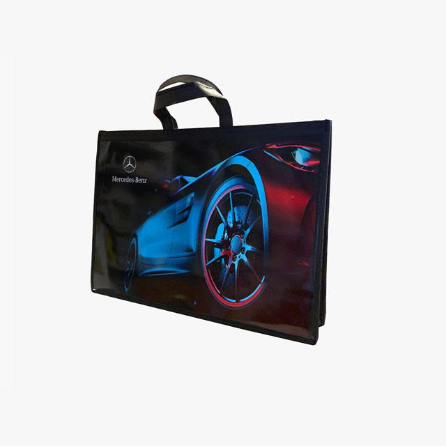 Promotional Interlining-Cardboard Bag (33x48x10 cm)