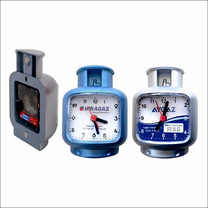 Propane Tube Shaped Fridge Clock