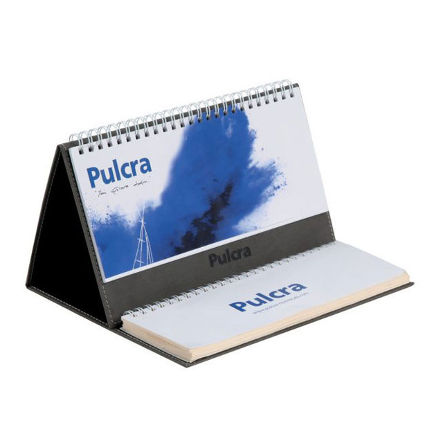 Pyramid Calendar with Weekly Desk Calendar