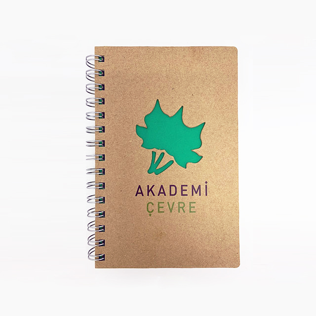 Recyclable Notebook with Special Cut Cover
