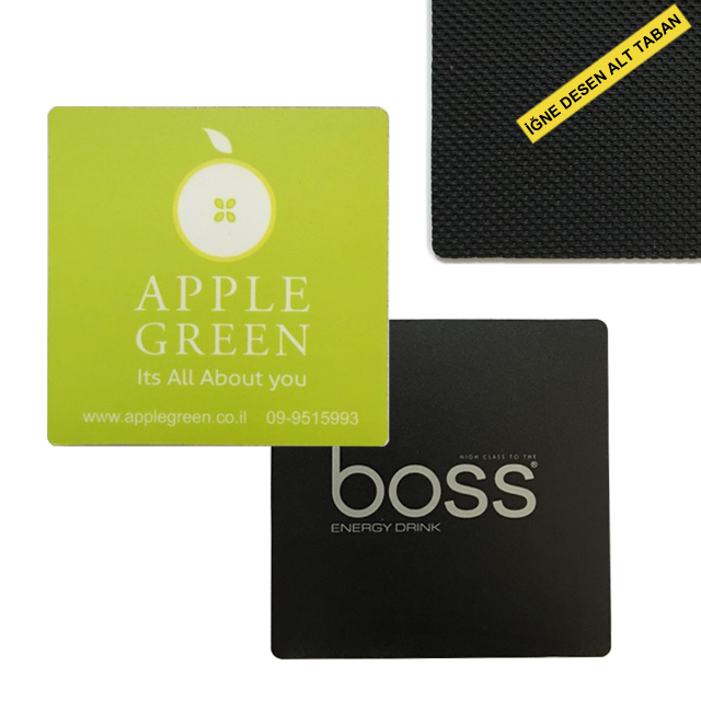 Rubber Based Square Coasters