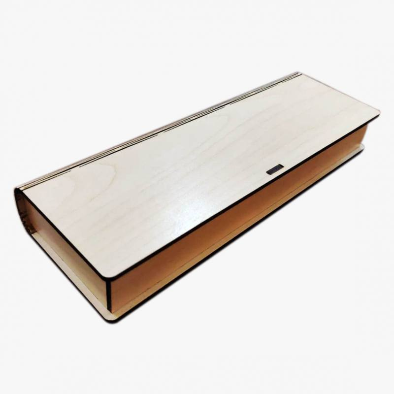 Self Hinged Laminated Wooden Gift Box