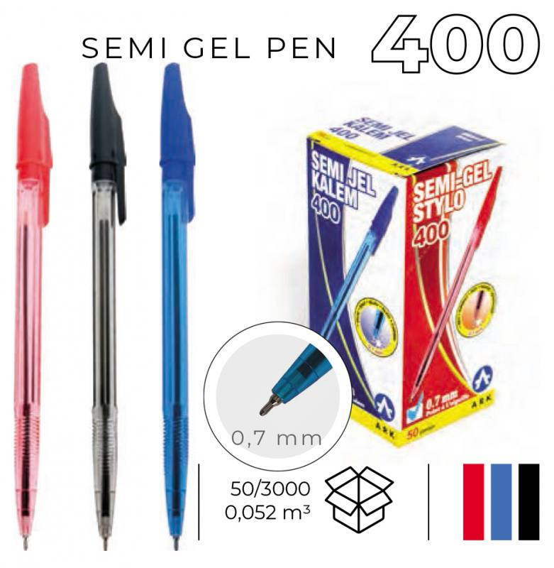 Semi-Jel Pen