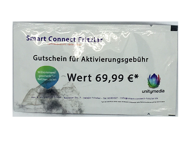 Single Pack Wet Wipes ( 6 x 10 cm )