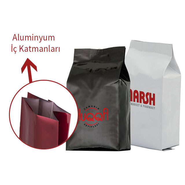 Small Size Colored Aluminum Bag