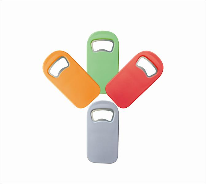 Square Shape Bottle Opener with Magnet