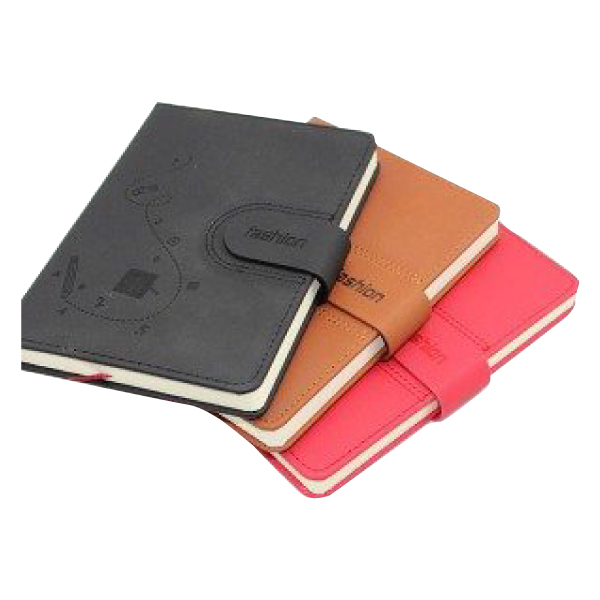 Locked Thermo Leather Notebook