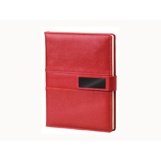 Thermo Leather Red Notebook