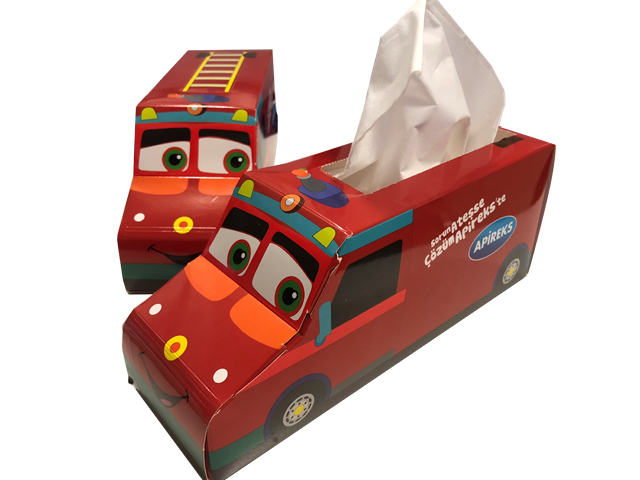 Truck Shape Tissue Box (29,5x7,5x9cm) 50 Sheets