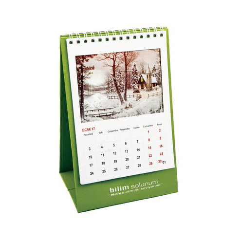 Mini Calendar (with cardboard carrier)