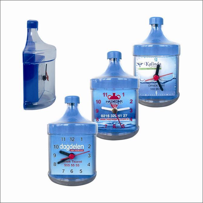 Water Bottle Shaped Fridge Clock