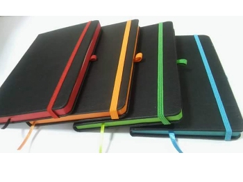 DFT-326 - 13 x 21 cm Edge Painted Notebook