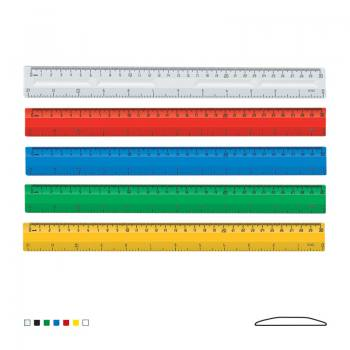 30 cm - 12 inch Plastic Ruler