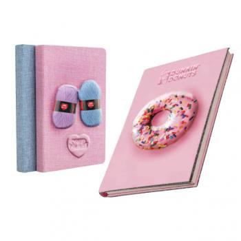 3D Embossed Sponge Cover Notebook