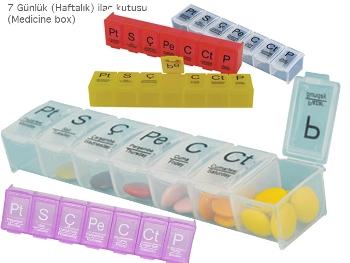 7 Day Medicine Box