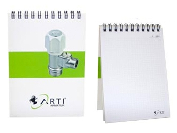 A6 Spiral Bound Note Papers