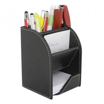 DMU-4501 - Artificial Leather Pen Holder
