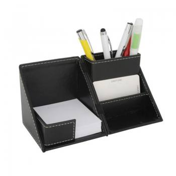 Artificial Leather Pen Holder